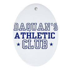 Daquan Oval Ornament