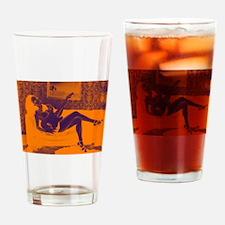 Charlie #5 Drinking Glass