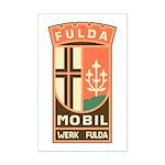 Fuldamobil Classic logo Mini Poster Print