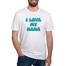 I LOVE MY NANA LIGHT BLUE T-Shirt