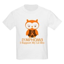 Lil Bro Lymphoma Support T-Shirt