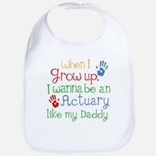 Actuary Like My Daddy Bib