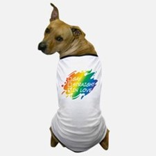 Gay Straight In Love Dog T-Shirt