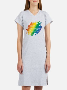 Gay Straight In Love Women's Nightshirt