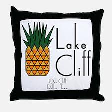 Lake Cliff Throw Pillow