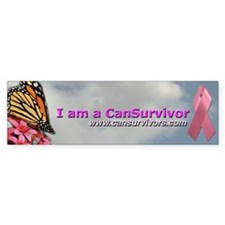 Pink Ribbon Bumper Bumper Sticker