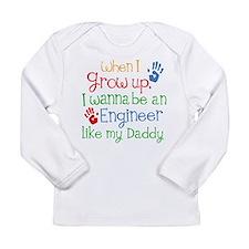 Engineer Like My Daddy Long Sleeve Infant T-Shirt