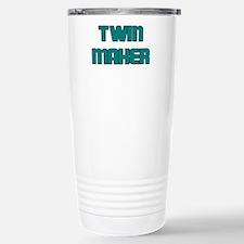 TWIN MAKER TEAL Travel Mug