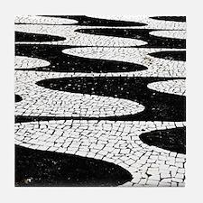 Portuguese pavement Tile Coaster