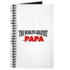 """The World's Greatest Papa"" Journal"