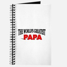 """""""The World's Greatest Papa"""" Journal"""