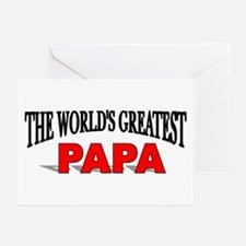"""The World's Greatest Papa"" Greeting Cards (Packag"