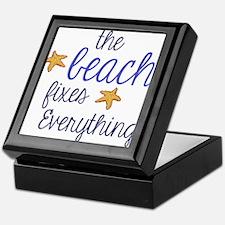 The Beach Fixes Everything Keepsake Box