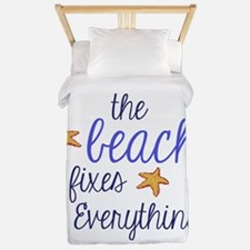 The Beach Fixes Everything Twin Duvet