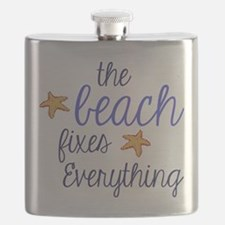 The Beach Fixes Everything Flask