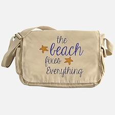The Beach Fixes Everything Messenger Bag
