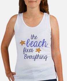 The Beach Fixes Everything Tank Top