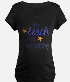 The Beach Fixes Everything Maternity T-Shirt