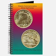 San Francisco Oakland Bridge Coin Journal