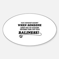 Balinese cat gifts Decal