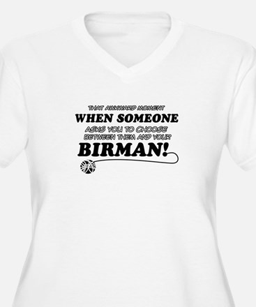 Birman cat gifts T-Shirt