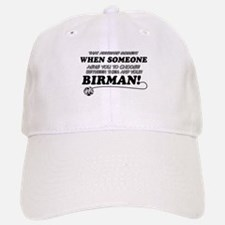 Birman cat gifts Baseball Baseball Cap