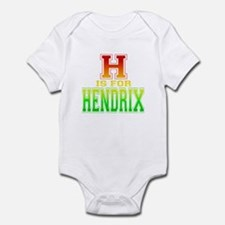 H is for Hendrix Infant Bodysuit