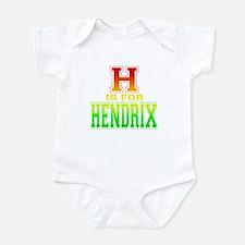 H is for Hendrix Onesie
