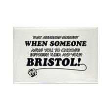 Bristol cat gifts Rectangle Magnet