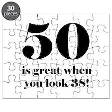 50th Birthday Humor Puzzle