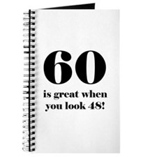60th Birthday Humor Journal