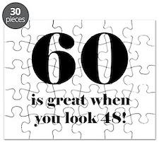 60th Birthday Humor Puzzle