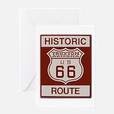 Truxton Route 66 Greeting Card