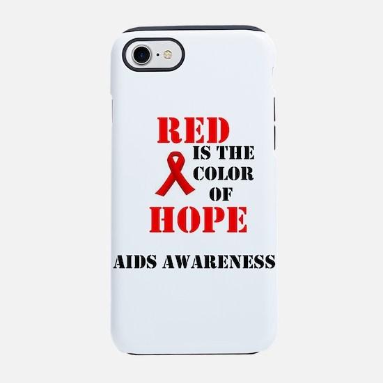 aids awareness month iPhone 7 Tough Case
