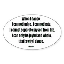 Why I Dance Stickers
