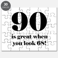 90th Birthday Humor Puzzle