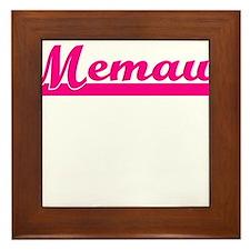 MEMAW Framed Tile