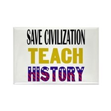 SAVE CIVILIZATION Rectangle Magnet