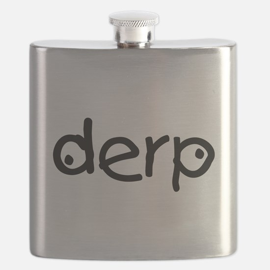 Derp Silly Flask