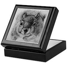 Squirrel Sketch 2 Keepsake Box