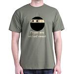 Ninjas are wicked sweet Green T-Shirt