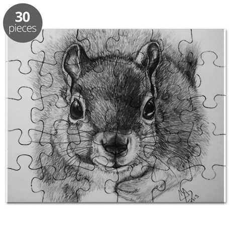 Squirrel Sketch Puzzle