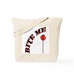 Bite Me Lollipop Tote Bag