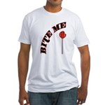 Bite Me Lollipop Fitted T-Shirt