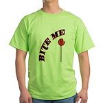 Bite Me Lollipop Green T-Shirt