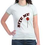 Bite Me Lollipop Jr. Ringer T-Shirt