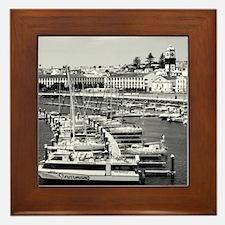 Ponta Delgada Framed Tile