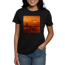 Van Gogh Tower in Fields T-Shirt