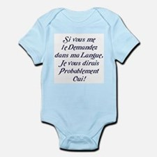 The French Infant Bodysuit