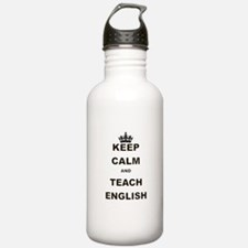 KEEP CALM AND TEACH ENGLISH Water Bottle